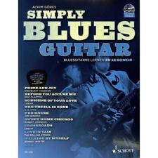Göres: Simply Blues Guitar + CD! SCHOTT SPL1100 Bluesgitarre lernen NEU