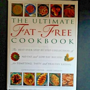 The Ultimate Fat-Free Cookbook Pre owned Very Good Condition Hardback Book