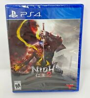 Sony PS4 NIOH 2 New Sealed Unopened Playstation 4