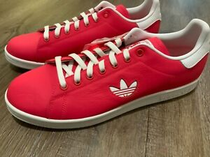 Adidas Stan Smith Leather Coral Red Classic Original G27997 Men's Size 11