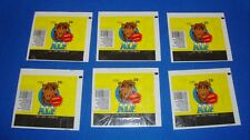 1987 Topps Alf Wrapper Lot of 6