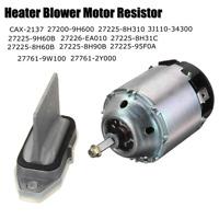 Heater Blower Motor & Regulator For NISSAN X-TRAIL T30 RHD CAX-2137  27200-9H600