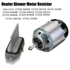 Heater Blower Motor & Regulator For NISSAN X-TRAIL 2.0 2.2.5 2001-07 27225-8H31C