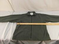 Vintage Military Surplus M-127 Overall Cover Dark Brown Button Closed 33853