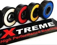 ABEC 9 Xtreme 608 SWISS HIGH PERFORMANCE BEARINGS SKATEBOARD SCOOTER COLOURS