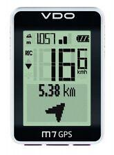 VDO Fahrradcomputer  M7 GPS ,12 Funktionen, kabellos , Höhenmessung usw. neu