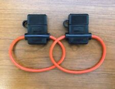 2 Scorpion Waterproof Fuse Holders for ATC / Blade Fuses
