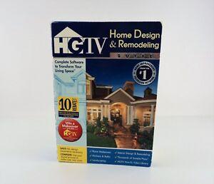 HGTV Home Design Remodeling Suite Windows XP/Vista - Sealed New
