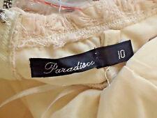 PARADISCO StraplessStretchBandageNudeMicroMini Size10