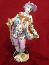 Helena Wolfsohn Dresden Porcelain Figurine Man With Walking Stick