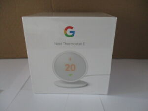 Google Nest Thermostat e + Heat Link E - Brand New Sealed