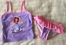 Disney Princess Really Cute Sofia The First Bikini/Swim Tankini Set ~ 5-6 Yrs