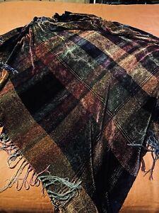 Beautiful Churchill Weavers Chenille Throw Berea Kentucky Hand Woven