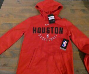 Nike Houston Rockets NBA Practice Therma Hoodie Size Medium Kids