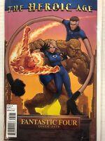 Fantastic Four #579 Comic Book Variant Marvel 2010