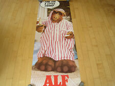 NOS!! 1987 ALF the alien CAT NAP HUGE DOOR POSTER tv show PROMO PIN UP funny 80s
