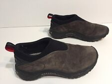 Merrell Orbit Moc Grey Suede Slip On Loafer Women's Shoe Size 6  E085