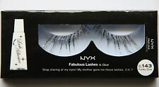 NYX Fabulous Lashes, # EL143, FUNKY DIVA, Standing Out Eyes