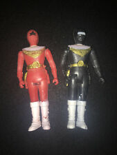 Power Rangers Knock Off Set of Two Vintage HTF Collectable Aircraft Rangers