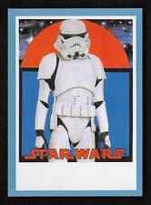 2017 Topps Star Wars 1978 Sugar Free Wrappers STORMTROPPER Blue #37/75