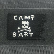 Tactical Outfitters - CAMP BART FLAG MORALE PATCH - the simpsons kamp krusty