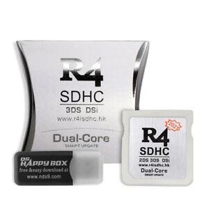 R4 SDHC Modul (2021) NEW 3DS XL LL 3DS 2DS DSi Dual Flash Speicher Card Adapter