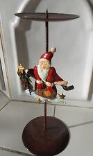 Kerzenständer Weihnachten Weihnachtsmann