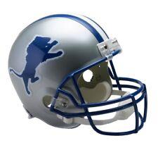 NFL Mini Helm Detroit Lions Throwback Riddell 1983-2002 Helmet Football