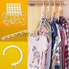 Multi Racks Hooks Wardrobe Closet Organizer Clothes Suit/Shirt/Pants Hanger Set