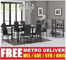 Glass Modern Dining Furniture Sets