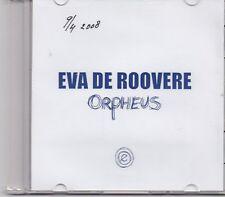 Eva De Roovere-Orpheus promo cd single