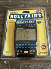 NEW Radica Solitaire Klondike 2320 Electronic Handheld Portable Game-NOS SEALED