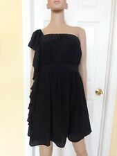 BEBE black one shoulder dress size M