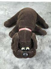"""Vintage Pound Puppy 1985 Tonka Dark Brown 16"""""""