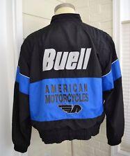 BUELL Motorcycle Jacket Purple Black Mens Size XXL 2XL Made USA Vintage