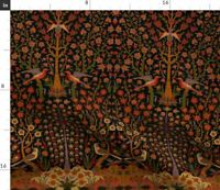 Persian Islamic Turkish Moroccan Indian Fabric Printed by Spoonflower BTY