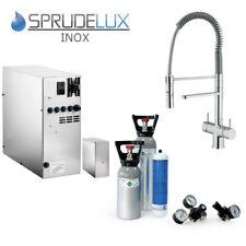 Untertisch-Trinkwassersystem SPRUDELUX INOX ohne Filter + 5-Wege-Armatur + 6kg