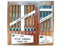 🛠Sears Craftsman Wood Turning Chisel Sets 1x 8pc+ 1x SEALED 4pc Vintage Tools⛏