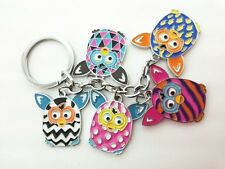 "FURBY BOOM 5"" Cute Owl Compact Travel  Keychain Top Gift Idea"