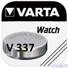 10x VARTA v337 V 337 OROLOGI BATTERIA PILA A BOTTONE sr416sw primario ossido di argento BLISTER