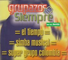 El Tiempo,simba Musical,Super Grupo Colombia  Box set 3CD New Nuevo sealed