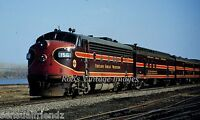 Chicago Great Western Photo CGW Mill City Limited CNW Railroad Train