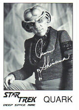 Star Trek Signed Autograph Photo of Quark, Armin Shimerman
