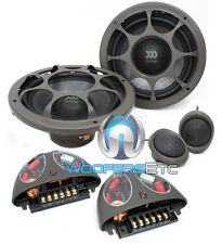 "MOREL VIRTUS 602 6.5"" CAR 2-WAY COMPONENT SPEAKERS MIDS TWEETERS CROSSOVERS NEW"
