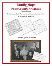 Family Maps Pope County Arkansas Genealogy Plat History