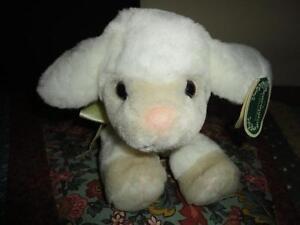 Bearington LAMBE PIE Baby Lamb Stuffed Plush 13 inch