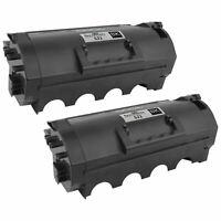 2PK 52D1000 for Lexmark 521 BLACK Toner Cartridge MS811dtn MS810 MS810D MS810DTN