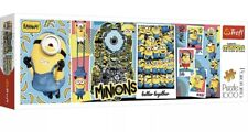 Trefl - Minions The Rise Of Gru Panorama 1000pc Puzzle Game, SAME DAY DISPATCH