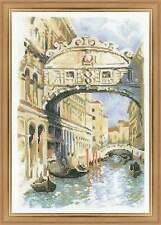 "Counted Cross Stitch Kit RIOLIS 1552 - ""Venice. Bridge of Sighs"""
