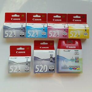 Canon Tintenpatronen CLI-521 BK GY M C Y Multi Pack Canon Tintenpatronen PGI-520